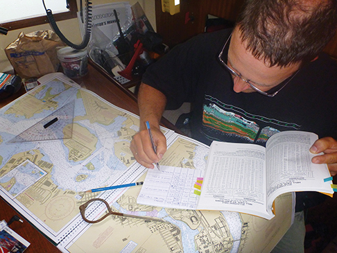 Markus plans the NY approach