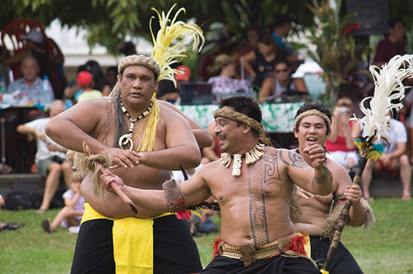 Marquesan dance troop (3)