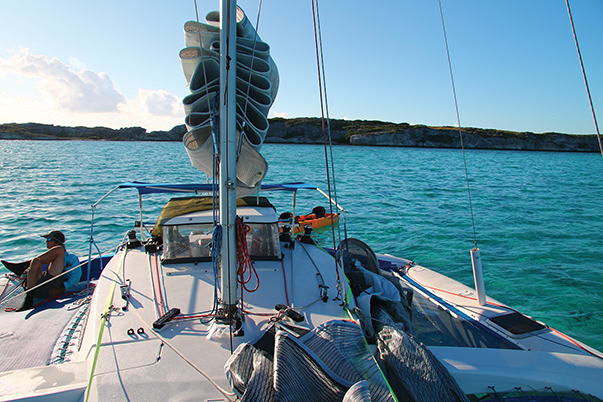 South Caicos Harbor is one of the most beautiful anchorages in the Turks & Caicos Islands to be found