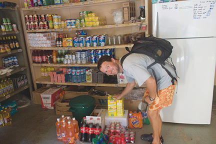 The tiny grocery store in most villages offer a limited selection, head to Atuona or Taiohae to stock up