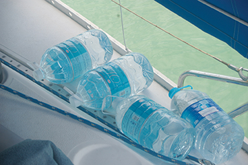 If all else fails, keep a few bottles of water