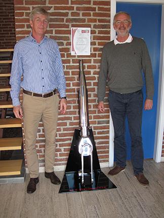 BSI's Lars Legarth (left) and Eric Quorning