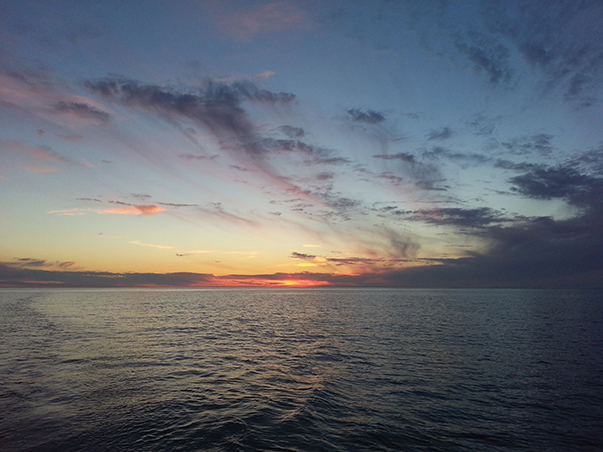 A Lake Superior sunset