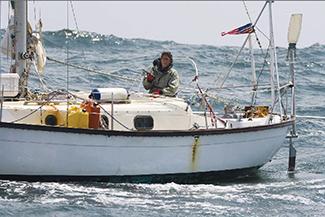 Donna Lang sailing