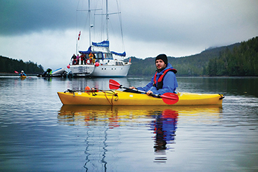 kayak and Island Roamer