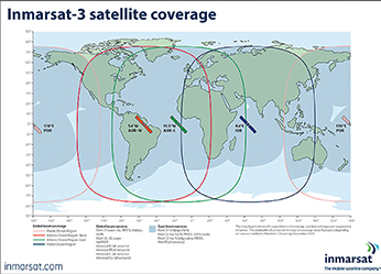 Inmarsat coverage