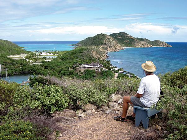 Overlooking Biras Creek and Deep Bay