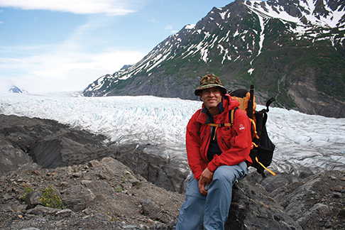 Arun by Grewingk Glacier
