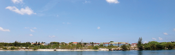 Behind the marina lie dormitories and the 'village' where commuters from Havana and La Isla live two-thirds of the year.