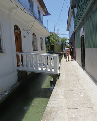 Canals through Banacca - the Venice of the Caribbean