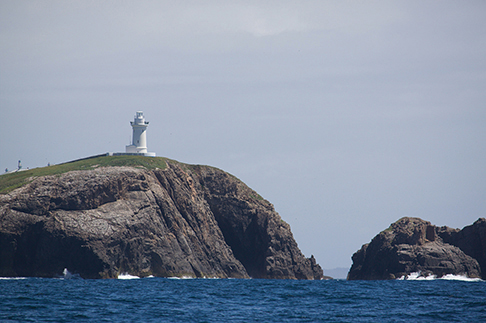 South Solitary Island is one of many landmarks of a rugged, unforgiving coastline