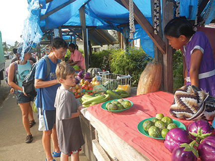 Fresh local produce is and bountiful and cheap throughout Fiji