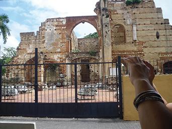 Colonial Town ruins