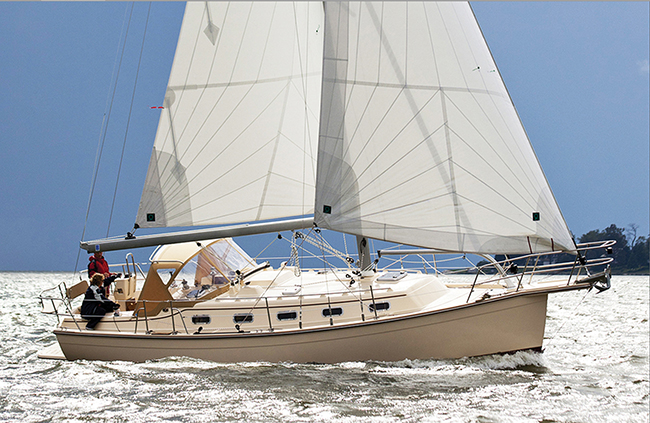Island Packet 349 | Blue Water Sailing
