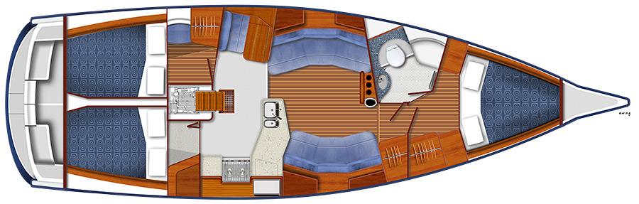 BJ40 layout