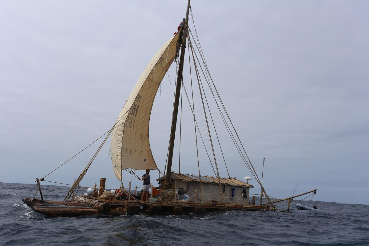 Follow The Kon-Tiki2 Expedition As They Sail From South