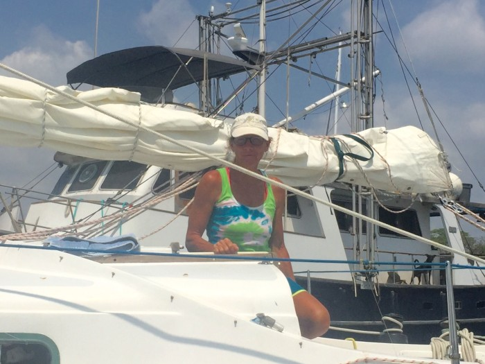 Update: Donna Lange's Solo Circumnavigation Interrupted