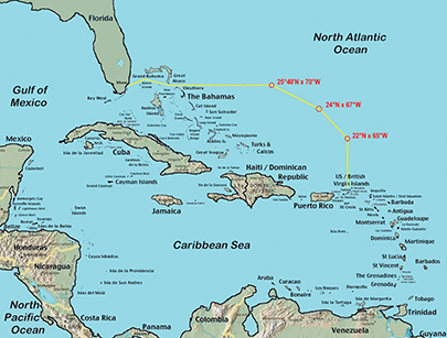 Tips On Routing From Florida To The Caribbean Cruising