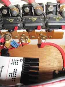 Photo4 Completed Project Circuit Breakers, Bus Bars, dump regulator