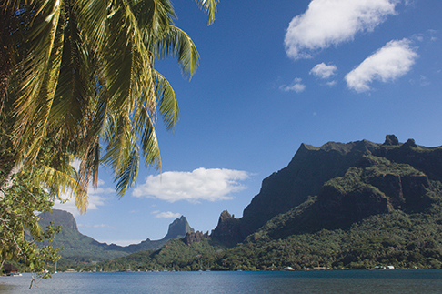 Moorea's Opunohu Bay is one of several stunners in the Society Islands