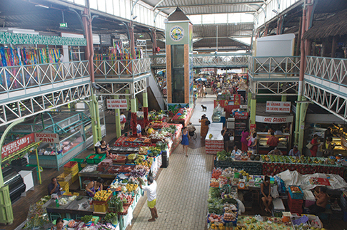 Papeete is the place to stock up