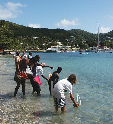 Bequia coconut boat races