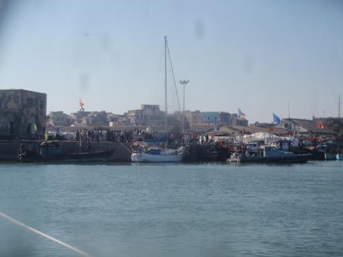 Under boat arrest in Veraval