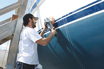 9. Hull Polishing