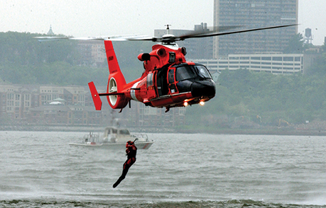 SEARCH AND RESCUE DEMONSTRATION