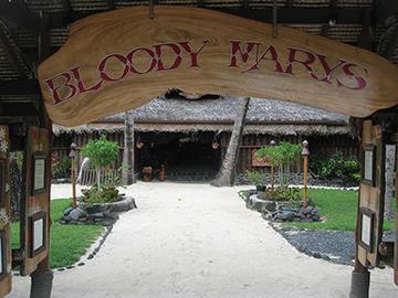 Bora Bora's Bloody Marys