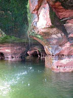 Cave Rain