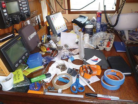 Ocean-bound sailors must develop a mindset of resourcefulness
