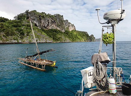 Sailau tied to Tenaya at Panasia