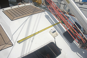 This long crack in new deck paint warrants a closer look.