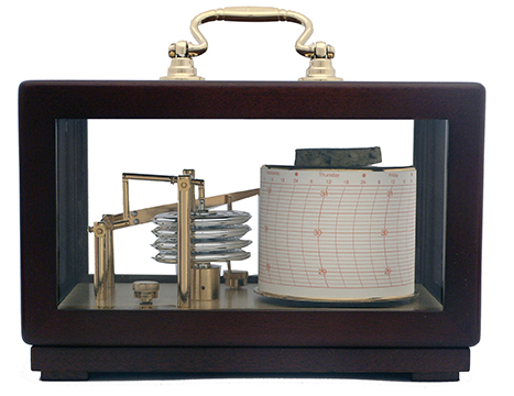 Weems & Plath barograph