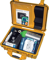 6. Marine Defibrillator Plus Oxygen ( hard case ), by Emergency Medical Group