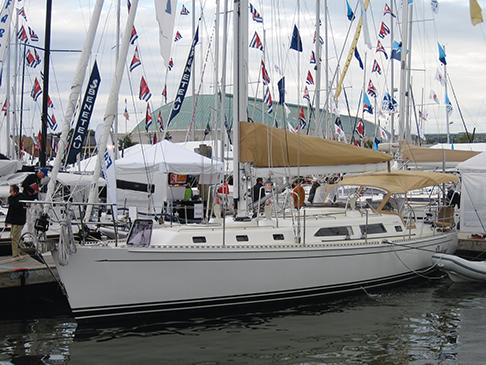Pratique, journey's end, Annapolis Boat Show