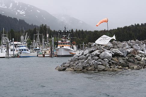 Entering Seldovia Harbor