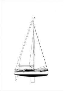 S33- Sail plan