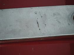 Pit corrosion