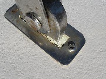 Sealant leak