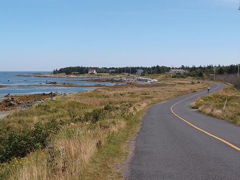 Biking on Whitehead Island
