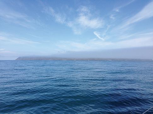 Fog over Grand Manan