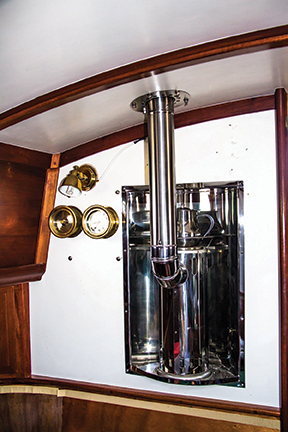 Celeste's stove-type heater