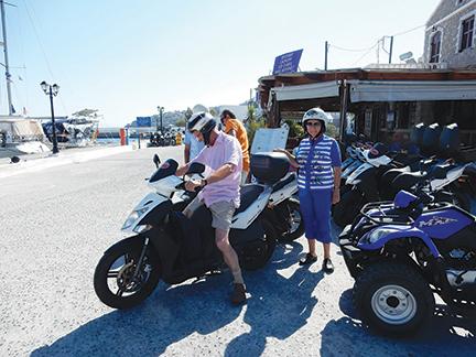 renting motorbikes in Nisyros