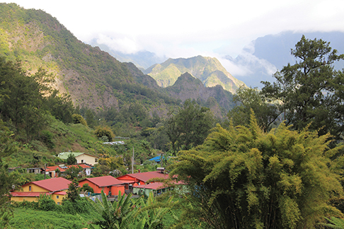 Reunion - mountain village
