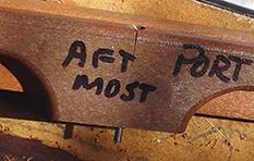figure 1 Crack in old handle