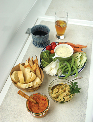 Dips and Spreads 2