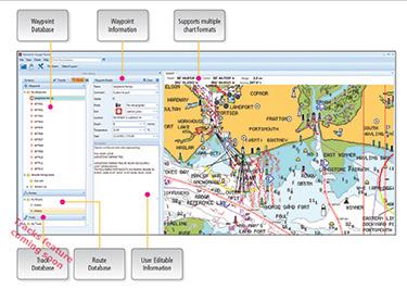 Voyage planner software