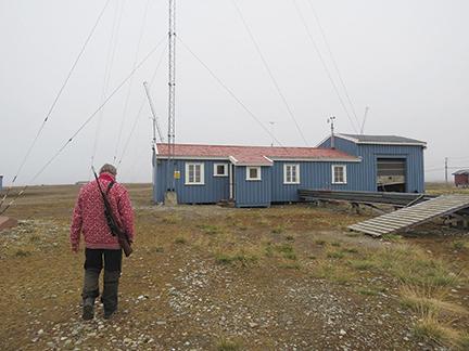 Isfjord radio Cap Linne